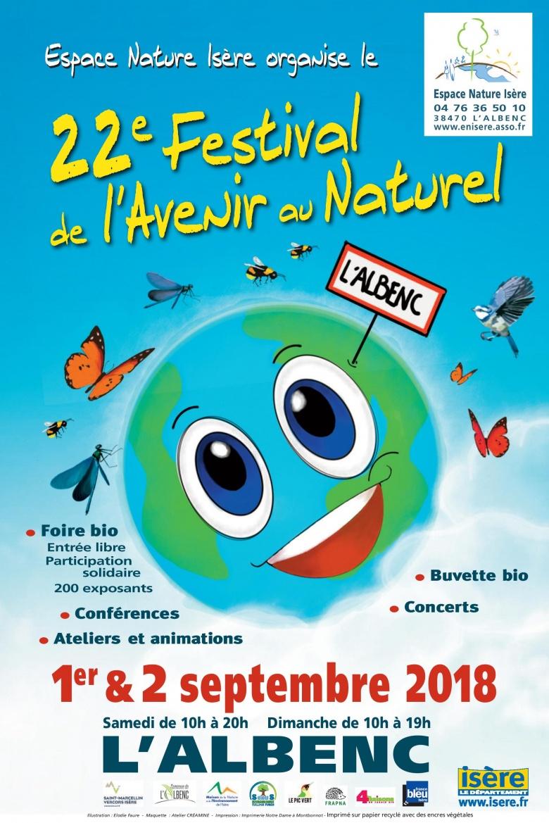 Festival l'Avenir au Naturel – L'Albenc (38) – 1er et 2 septembre 2018