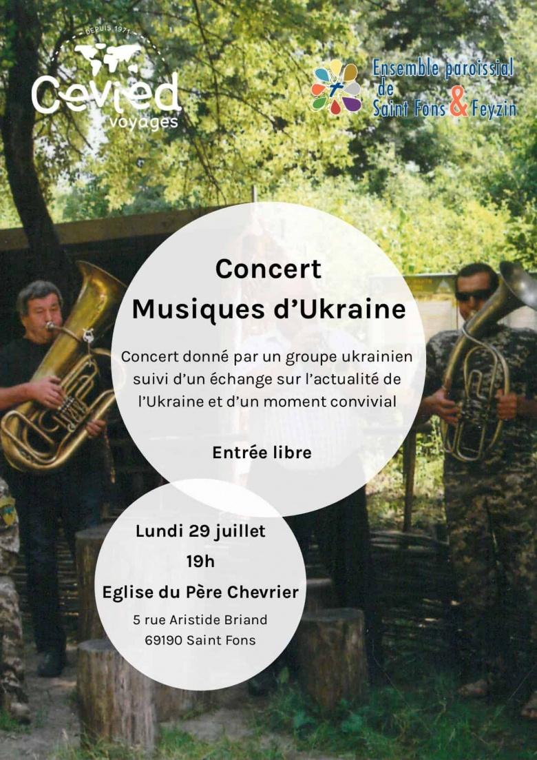Concert Musiques Ukrainiennes – 29 juillet