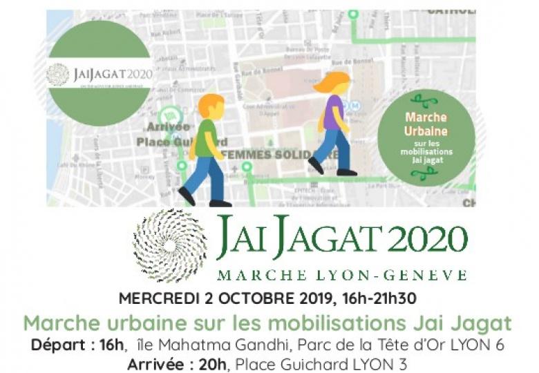Jaijagat 2020 – Marche du 02 octobre à Lyon