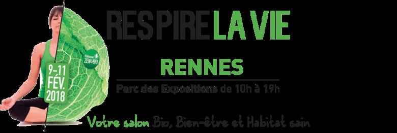 Salon Respire la vie – 9 10 11 février 2018 – Rennes