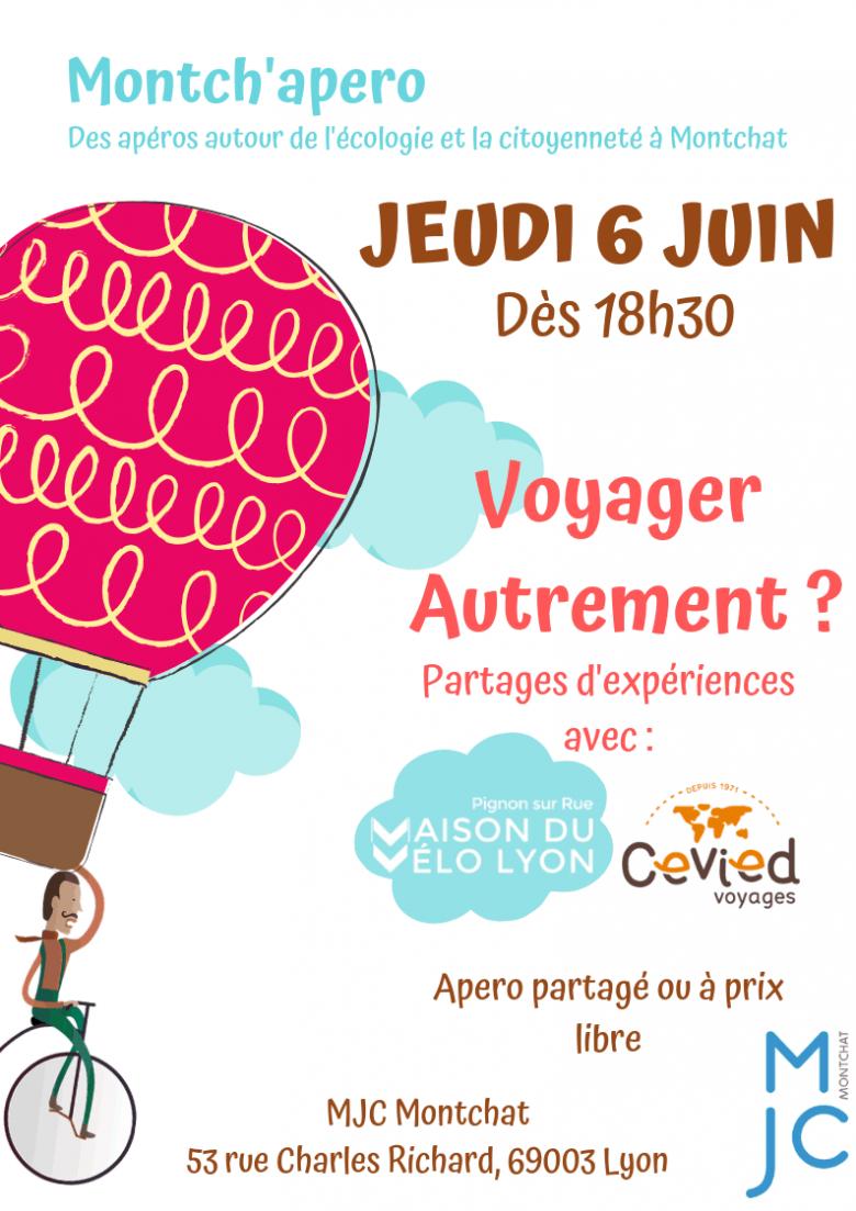 Montch'apéro «Voyager autrement» – 06 juin 2019