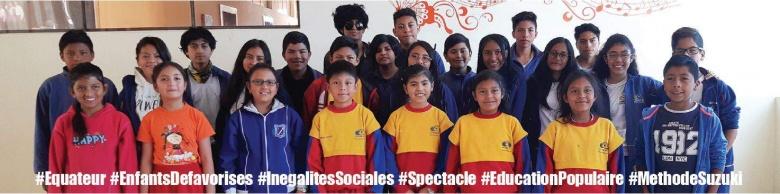 Tournée nationale – Les enfants d'Équateur nous ouvrent leur chœur