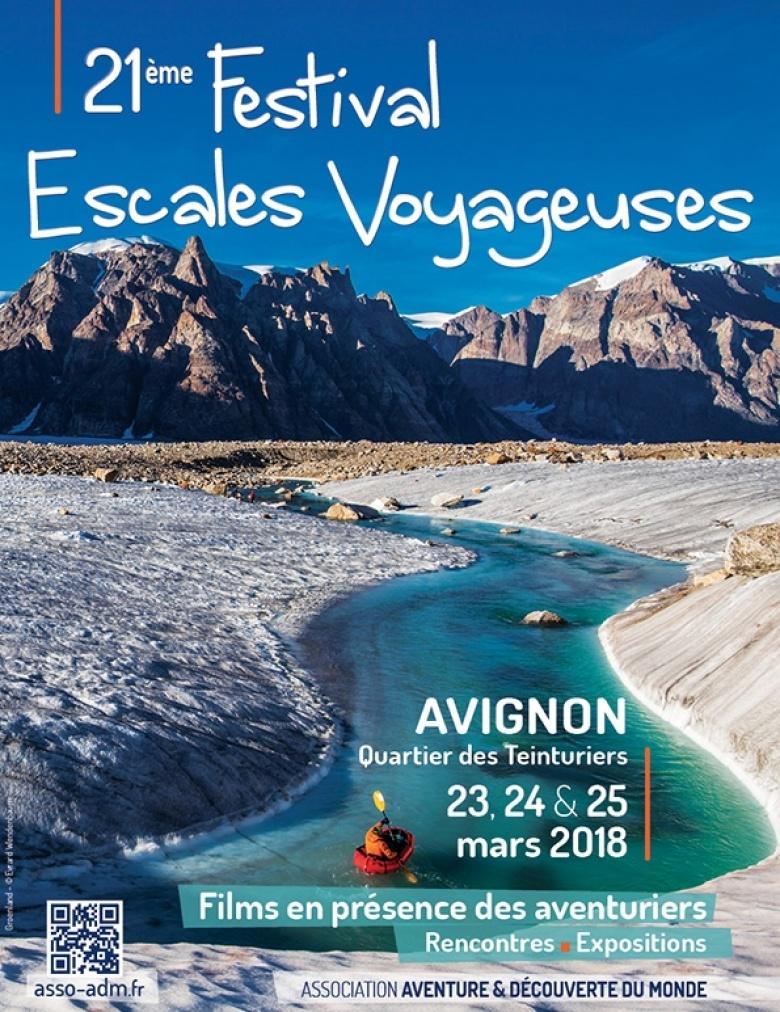 Festival Escales Voyageuses – 23, 24 et 25 mars – Avignon