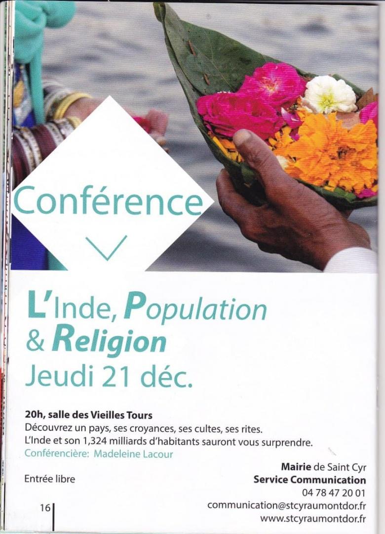 Conférence sur l'Inde