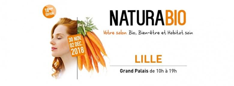 Salon NaturaBio de Lille – du 30/11 au 02/12/2018
